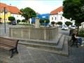 Image for kašna / fountain Týn nad Vltavou, Czech republic