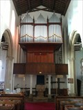 Image for Church Organ, All Saints - Dickleburgh, Norfolk