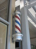 Image for The Hair Works Barber Pole - San Jose, CA