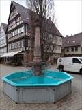 Image for Unterer Marktbrunnen - Nagold, Germany, BW
