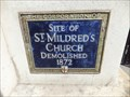 Image for St Mildred's Church - Poultry, London, UK