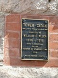 Image for Bordentown Clock Tower