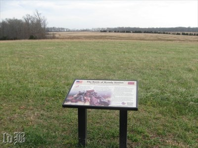 This is the spot where the 7th VA Cav met the 8th NY Cav and 8th IL Cav.