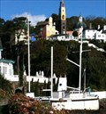 Image for Stone Boat Flag Pole - Portmeirion - Wales