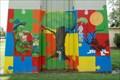 Image for Downtown Marina Playground Mural - Houma, LA