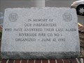 Image for Riverside Fire Co. No. 1 Memorial No. 2 - Riverside, NJ