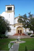Image for Church of the Holy Cross at Saint Leo Abbey - St. Leo, FL