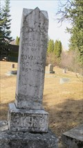 Image for Pioneer Cemetery - Creston, British Columbia