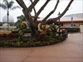 Image for (LEGACY) The Three Caballeros Topiaries - Epcot, FL