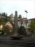 Image for Obelisk on a Fountain - Baden, AG, Switzerland
