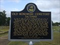Image for Old Rosemere Cemetery - Opelika, AL