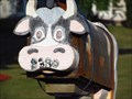Image for Rusty Cow Mailbox - Lasalle, Ontario