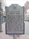 Image for Village of Rock Hill and City of Rock Hill Historical Marker
