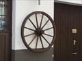 Image for Wagon Wheel Decoration - Ergenzingen, Germany, BW