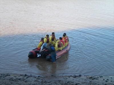 Shubenacadie River Tidal Bore Rafting