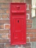 Image for REPLICA - Llanuwchllyn Station Victorian Post Box - Llanuwchllyn, Gwynedd, North Wales, UK