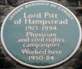 Image for Lord Pitt of Hampstead - North Gower Street, London, UK