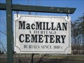 Image for MacMillan Heritage Cemetary