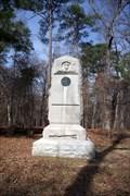 Image for 101st Indiana Infantry Monument ~ Chickamauga Georgia
