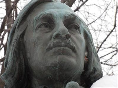Gros plan de la tête .Closeup of the head.
