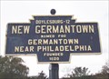 Image for Blue Plaque: New Germantown