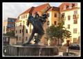 """Image for """"Battle against the sea (Kampen mod havet)"""" fountain - Aalborg, Denmark"""