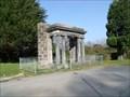 Image for The portico to the former Penrhyn Arms Hotel, Bangor, Gwynedd, Wales