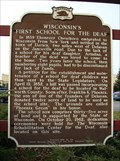 Image for Wisconsin's First School for the Deaf Historical Marker