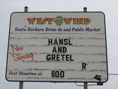 West Wind Drive-In Sign, Goleta, CA
