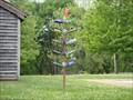 Image for W. C. Handy House Bottle Tree, Florence, Alabama