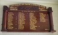Image for Cottesloe Surf Club Honour Board - Cottesloe, Western Australia