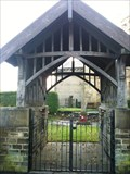Image for St John the Evangelist church lychgate - Bradford,UK