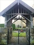 Image for St John the Evangelist church lychgate - Bradford,UK