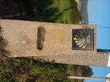 Image for Way marker (after the intersection) - Finisterra, spain