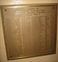 Image for Mission Santa Clara WWII Plaque - Santa Clara, CA