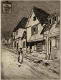"Image for ""The Coopers Arms 1886"" by F L Griggs – The Coopers Arms, Tilehouse St, Hitchin, Herts, UK"