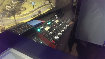Model Railway - Control Room - National Railway Museum.