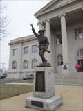 "Image for Mis-Identifed Viquesney ""Doughboy"" Leavenworth Co. Courthouse -- Leavenworth KS"