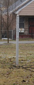 Image for Pocket Park Peace Pole -- N 3rd and Looney, Memphis TN