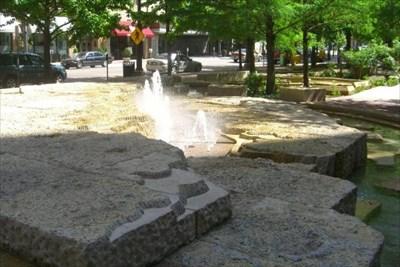 Pegasus Plaza Fountains