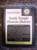 Image for South Temple Historic District - Salt Lake City, Utah