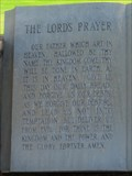 Image for The Lord's Prayer - IOOF Cemetery - Orland, CA