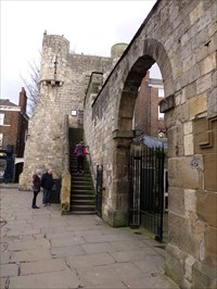City of York Walls - Visitor Attraction - York, Great Britain.