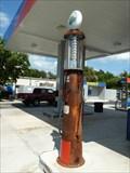 Image for Gilbert & Barker Antique Gas Pump - Juno Beach, FL