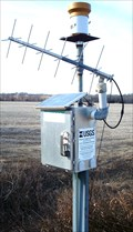 Image for Wakarusa River Solar Powered Gauge - near Richland, Ks