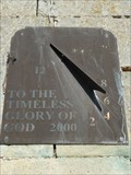 Image for Millennium Sundial, St Lawrence - Sedgebrook, Lincolnshire