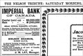 Image for Imperial Bank of Canada - Nelson, BC - 1902