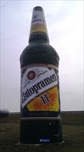 Image for (REMOVED) Giant Bottle of Beer - Prague, CZ