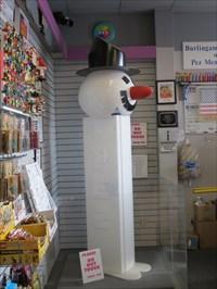 Dispenser Setting in Corner of Lobby, Burlingame, California
