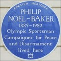 Image for Philip Noel-Baker - South Eaton Place, London, UK